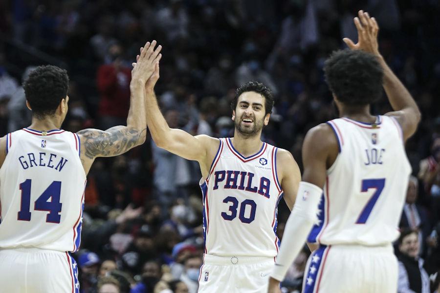 Preseason    Sixers quietly dominate Nets    NBA