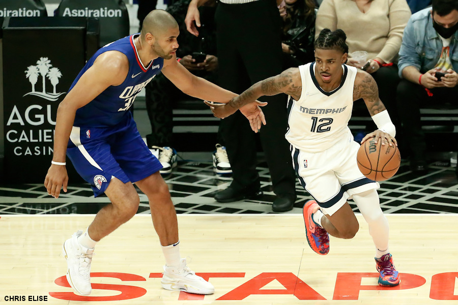 Ja Morant and Jaren Jackson Jr. resist the return of the Clippers |  NBA